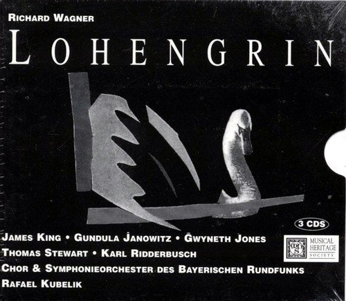 Bavarian Walnut - Lohengrin Opera in Three Acts - Wagner - Bavarian Radio Chorus and Symphony Orchestra, Rafael Kubelik