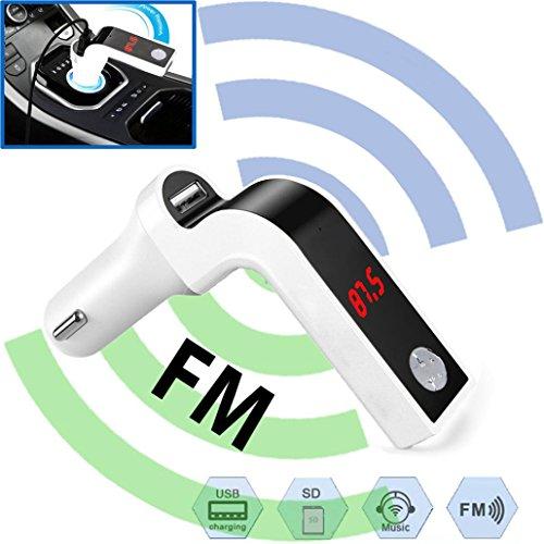 Creazy Car Music MP3 Player FM Transmitter Modulator Dual USB Charging SD MMC Remote