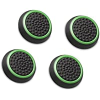Interesting® [Set 4] Thumb Stick Griffe Kappe Joystick Analogstick Griffe Silikon Kapak PS2, PS3, PS4, Xbox 360, Xbox One Game-Controller için