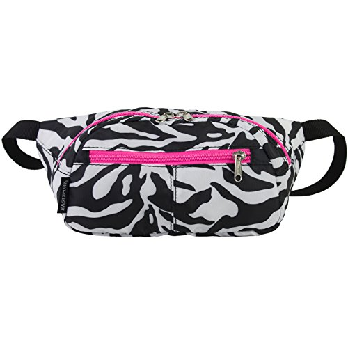 Zebra Print and Neon Pink Fanny Pack