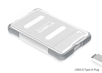 USB 3.0 to SATA III Carcasa para disco duro 2.5