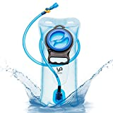 Hydration Bladder Water Reservoir Pack 2L (70Oz) - 100% Leak Proof and Durable - BPA Free, taste-free and anti-bacterial. FREE BONUS INCLUDED. For Cycling Hiking Skiing Camping Backpack from YA-YA.