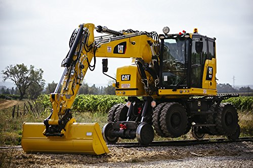 Home Comforts Laminated Poster Short Tail Rear M322 Two-Way Excavator Short Poster Print 24 x 36 (Rear Excavator)