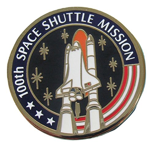 Space Shuttle Program Pin 100th Mission 2000 Vintage Official NASA