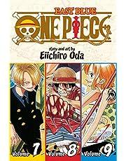 One Piece: East Blue: Volume 7, Volume 8, Volume 9: Includes Vols. 7, 8 & 9: 3