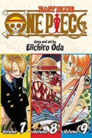 One Piece: East Blue: Volume 7, Volume 8, Volume 9: Includes Vols. 7, 8 &