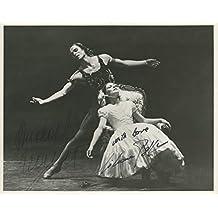 "Nureyev, Rudolph. (1938-1993) & Belfiore, Liliana. (b. 1952): Signed Photograph in ""Le Spectre de la Rose"""