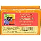 365 Everyday Value, Vitamin E Vegetable Glycerin Soap, 4 Ounce