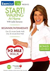 Start your weight loss journey with a walk at home program! ExerciseTV and Leslie Sansone's Walk at Home, in cooperation with the American Heart Association have produced an in-home walking workout that will put you on the path to achieving g...