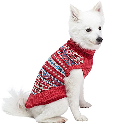 Blueberry Pet 4 Patterns Holiday Charm Fair Isle Style Sugar Coral ...