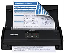 Brother Ads1000w Compact Color Desktop Scanner With Duplex & Wireless Networking