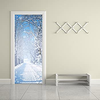 Details about  /3D Wall Sticker Decoration Self Adhesive Door Wall Mural Polish folk pattern