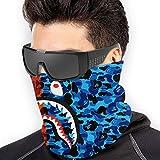 Bape Camo Blood Shark Microfiber Neck Warmer,Sports