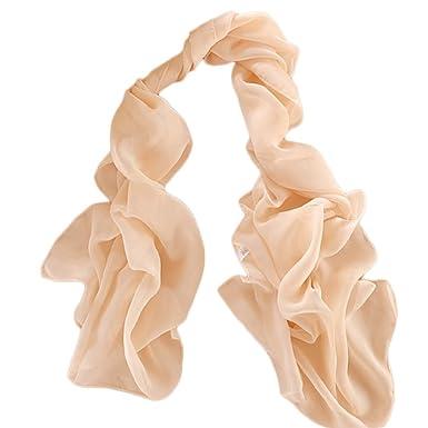 6b2edd33abc Demarkt Femme Longue Écharpe Châle Souple Couleur Unie Belle Elégant  Écharpe Accessoire Pour Automne Hiver-