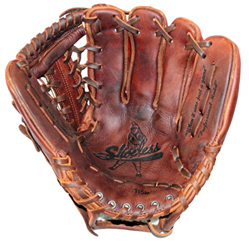 Diamond Ready Baseball Gloves Shoeless Joe Players Series 11 1/2'' Modified Trap Web Glove (Right Hand -