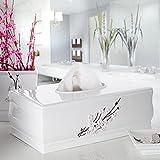 Creative Scents Vanda Tissue Box Cover Rectangular , Decorative Bath Tissues Paper Napkin Holder- Resin Rectangle Napkins Container- Bottom Slider (White)