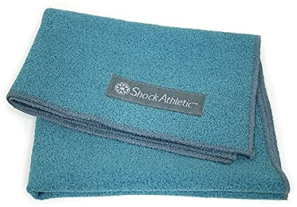Microban Shock Athletic Workour Towel, Ideal For All Fitness Activities
