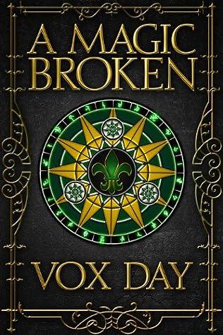 book cover of A Magic Broken