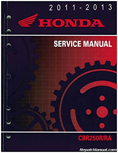 2011 2012 cbr250r ra service manual how to and user guide rh taxibermuda co 2011 cbr250r service manual 2011 CBR250R Parts