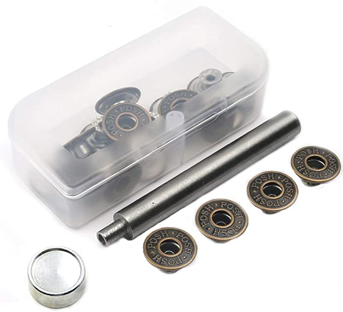 Evolution Tack Buttons Metal Replacement  For Jeans 12 24 /& 48 pcs