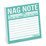 Knock Knock Nag Note Cute Funny Sticky Notes (Simple Stickies) Deal (Small Image)