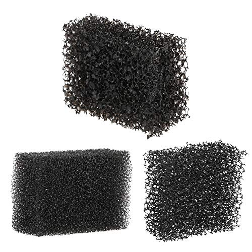 Meicoly Stipple Sponge Halloween Makeup Xmas Blood Scar Stubble Wound Cosplay Art Shaping Special Effects (Black) ()