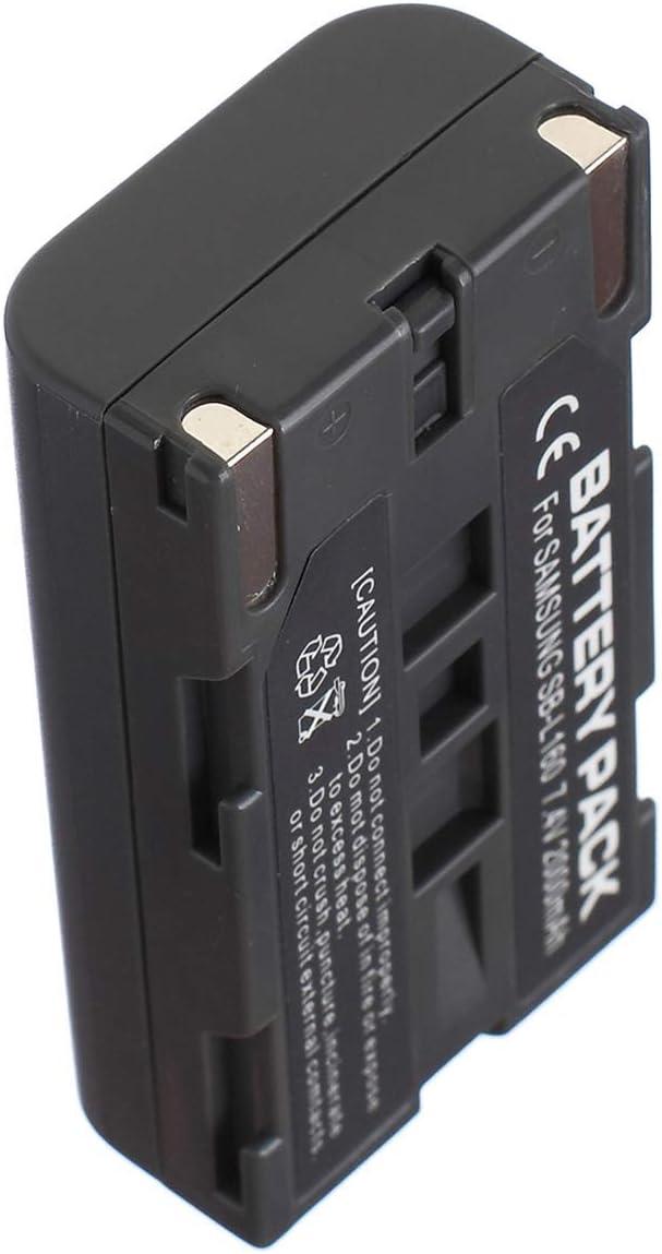 Charger for Samsung VP-M50 VP-M51 VP-M53 Battery Pack VP-M51B VP-M52 VP-M54 Digital Video Camcorder
