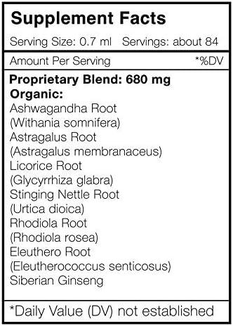 Secrets Of The Tribe - Happy Hormones, Endocrine System Formula, Herbal Supplement Blend Drops Alcohol Liquid Extract (2 fl oz)
