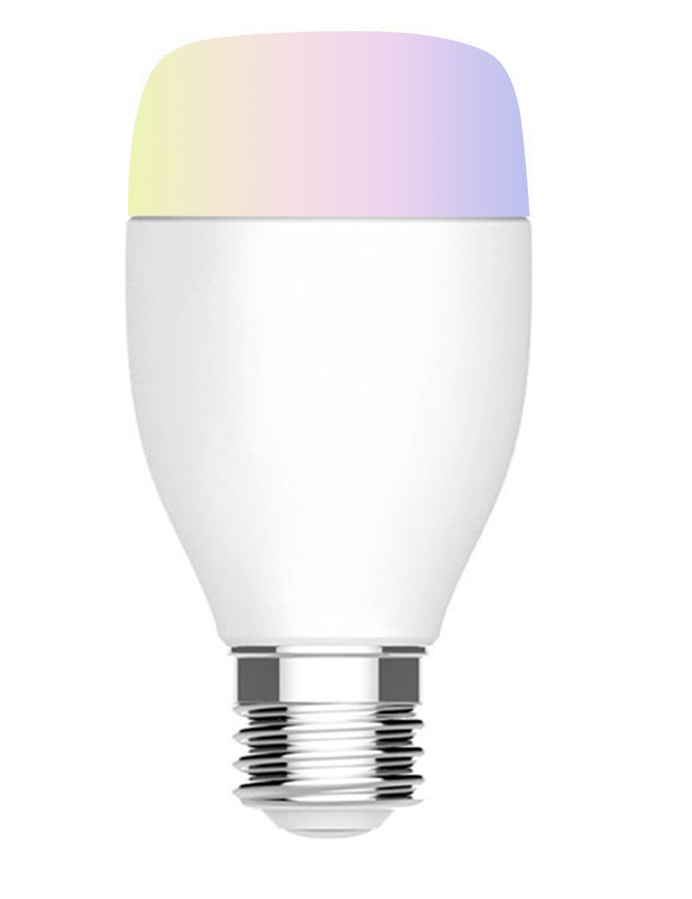 WiFi Smart Bulb Colour Dimmable LED Light E27 Smart Light Bulbs Compatible  with Alexa and Google Home, Emit Tuneable White Lights No Hub Required, ...