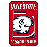WinCraft Dixie State Bison Official NCAA 11'' x 17'' Plastic Wall Sign 11x17 by 573704