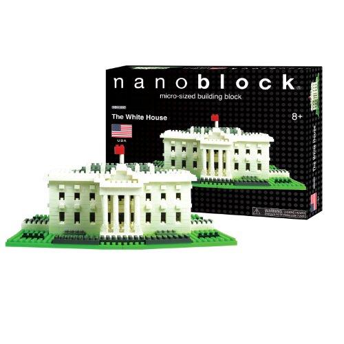 Amazon Nanoblock White House Toys Games