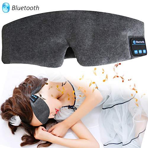 Bluetooth Sleeping Eye Mask Headphones, Wireless M...