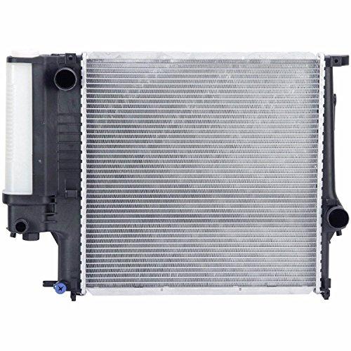 Bmw 318i Auto Parts - Klimoto Brand New Radiator fits BMW 318i 318is 1991-1999 318ti 1995-1999 Z3 1.8L 1.9L L4 BM3010102 17111469176 17111719263 17101715319 NMOte: No oil cooler