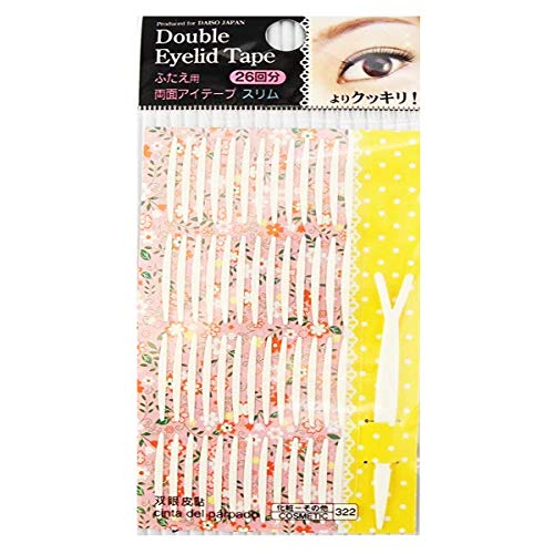 Daiso Double Eyelid Tape 26 pieces Slim Type