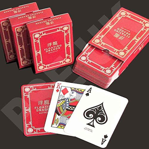 James Bond Floating Dragon Casino Poker Playing Cards by Cartamundi by Cartamundi