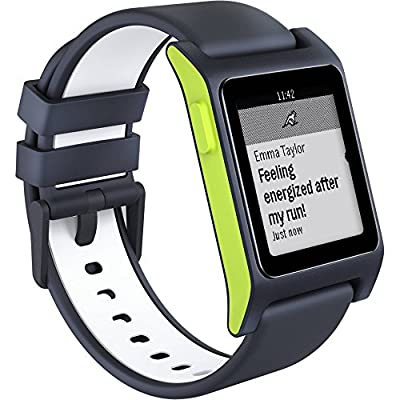 Pebble Smartwatch for - Charcoal/Lime