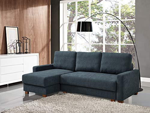 Serta Logan Multiple Functions Sectional Sofa with Storage, One Size, Charcoal