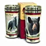 American Expedition Wildlife Steel Travel Mug (Black Bear)