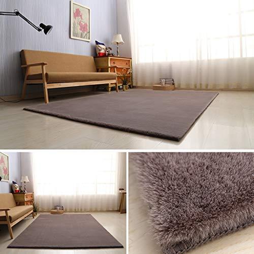 TMM carpet Alfombra Shaggy pequeña y Moderna para el Dormitorio de la Sala de Estar, para relajar al bebé Mascota (Color :...