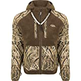 Drake MST Sherpa Fleece Liner Full Zip with Hood Blades SML
