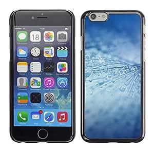 MOBMART Carcasa Funda Case Cover Armor Shell PARA Apple iPhone 6 PLUS / 6S PLUS 5.5 - Icy Rain Drops Strings