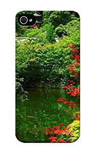 Fashion Protective Japanese Garden Case Cover Design For Iphone 5/5s