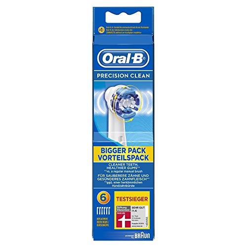 Oral-B Precision Clean Aufsteckbürsten, 6er Pack