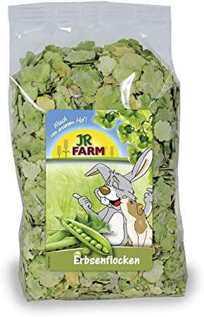 Jr Farm Vegetable Flakes Pea Flakes 200g Amazon Co Uk Pet Supplies