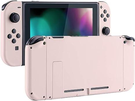 eXtremeRate Carcasa para Nintendo Switch,Funda Completa para Mando Controlador Consola Joy-con de Nintendo Switch Shell de Bricolaje reemplazable con Botón Completo (Rosa Sakura): Amazon.es: Electrónica