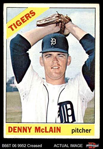 Mclain Tigers Detroit Denny (1966 Topps # 540 Denny McLain Detroit Tigers (Baseball Card) Dean's Cards 3 - VG Tigers)