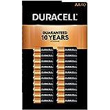 Duracell MN1500 Duralock Copper Top Alkaline AA Batteries - 40 Pack
