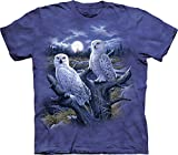 The Mountain Men's Snowy Owls T-Shirt, Blue/Purple, Medium