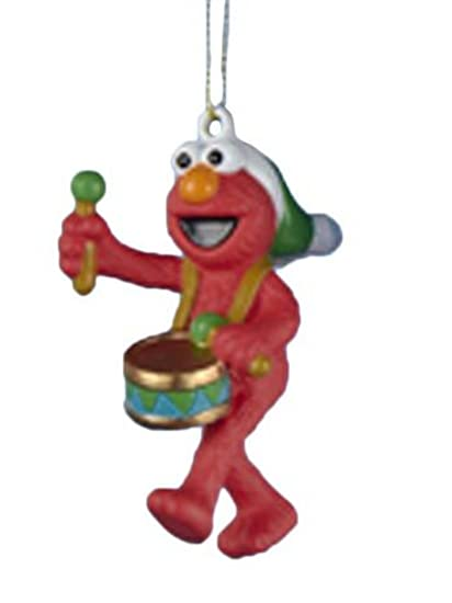 sesame street christmas ornament elmo playing drums holiday ornament 60