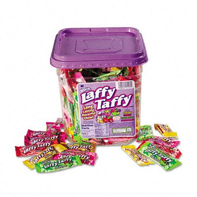 028000941055 - Wonka Laffy Taffy Assorted 165 Pieces, 3.09 lb. carousel main 1
